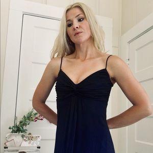 "Ombré Black Navy Evening Dress by ""Blondie Nites"""